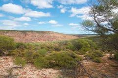 Scenic Landscape in Kalbarri National Park royalty free stock images