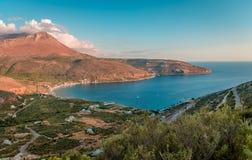 Laconian Mani landscape royalty free stock photo