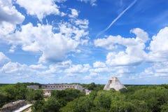 Scenic landscape of Maya city Royalty Free Stock Image