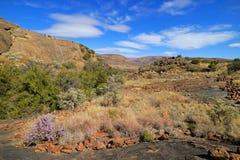Scenic landscape - Mountain Zebra National Park stock photo