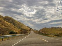 Scenic landscape near Kaikoura on the South Island of New Zealand royalty free stock photos