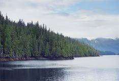 Fjord near Ketchikan Alaska. Royalty Free Stock Photos