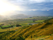 Scenic landscape, New Zealand Royalty Free Stock Photos