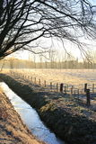 Scenic landscape in the Province Limburg, The Netherlands Royalty Free Stock Image
