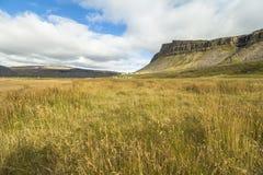 Scenic landscape of Raudisandur beach, west fjords, Iceland. Scenic landscape of Raudisandur beach, west fjords Iceland stock photos