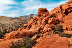 Scenic Landscape of Red Rocks, USA Royalty Free Stock Photo