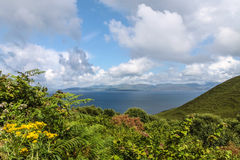 Scenic landscape at the Ring of Kerry Royalty Free Stock Photography