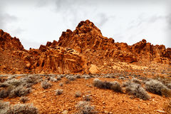 Scenic Landscape of Rock Formations, USA Stock Photo
