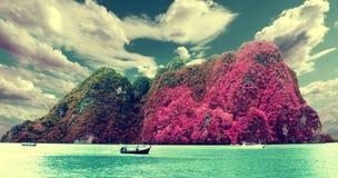 Scenic landscape.Seascape Royalty Free Stock Photos