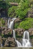 Seven Sacred Pools Landscape Hana Maui Royalty Free Stock Image