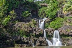 Seven Sacred Pools Landscape Hana Maui Stock Photography