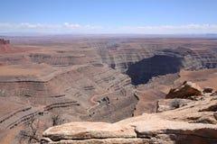 Scenic landscape in Utah, USA. Scenic landscape in Utah, United States of America Royalty Free Stock Images