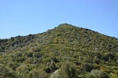 Scenic landscape of west Sardinia. Italy stock photos