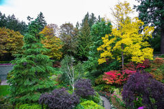 Scenic landscaped park-garden Stock Image