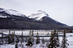 Scenic landscapes in Banff National Park, Alberta, Canada Stock Image