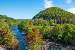 Scenic Lehigh River Royalty Free Stock Photography