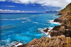Ligurian scenery Stock Images