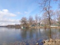 Lake Thawing Early Spring Royalty Free Stock Image