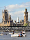 Scenic London, Big Ben Royalty Free Stock Images