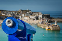 Scenic lookout in St. Ives Stock Photography