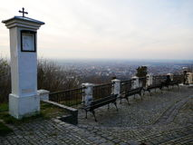 Scenic lookout of Vrsac Stock Photography