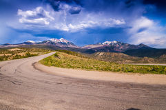 Scenic Loop Road, La Sal Mountains, Royalty Free Stock Photos