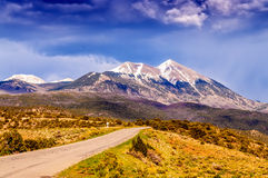 Scenic Loop Road, La Sal Mountains, Royalty Free Stock Images