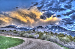 Scenic Loop Road, La Sal Mountains, Stock Photo