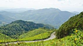 Scenic Mae Uko mountain Stock Image