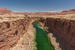 Scenic Marble Canyon Arizona Royalty Free Stock Photos