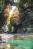 Martvili canyon in Georgia royalty free stock photos