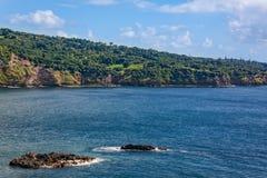 Scenic Maui Coast Royalty Free Stock Photography