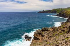 Scenic Maui Coast Landscape. The scenic Maui Hawaii coastline landscape Royalty Free Stock Image