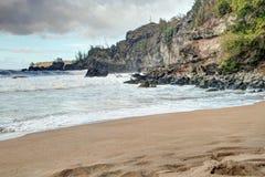 Scenic Maui Shoreline Royalty Free Stock Image