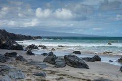 Scenic Maui Shoreline Royalty Free Stock Photography