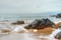 Scenic Maui Shoreline Royalty Free Stock Images