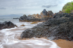 Scenic Maui Shoreline Royalty Free Stock Images