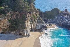 Scenic McWay Falls Landscape Stock Photography