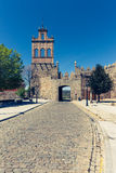 Scenic medieval city walls of Avila, Spain, UNESCO list Royalty Free Stock Images