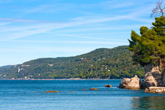 Scenic Mediterranean coast landscape Royalty Free Stock Image