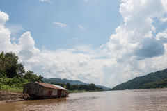 Scenic Mekong River Royalty Free Stock Image