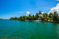 Miami Beach Cityscape Royalty Free Stock Photo
