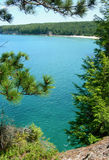 Scenic Michigan Upper Peninsula wilderness Royalty Free Stock Photography