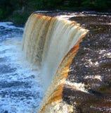 Scenic Michigan waterfall Royalty Free Stock Photo