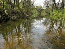 Scenic Middle Creek Stock Photo