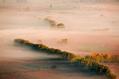 Scenic misty morning Royalty Free Stock Photography