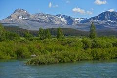 Scenic Montana Mountains Stock Image