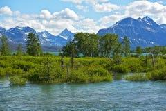 Scenic Montana in Summer Stock Photos