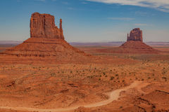 Scenic Monument Valley landscape Royalty Free Stock Photo