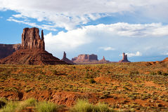 Summer day at Monument Valley USA Royalty Free Stock Photography